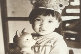 Ảnh độc thời bé của siêu mẫu Hà Anh