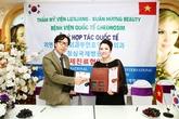 Thẩm mỹ Xuân Hương và bệnh viện Cheongsim ký kết hợp tác
