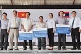 TH true MILK tặng 300.000 ly sữa tươi sạch cho trẻ em nước bạn Lào