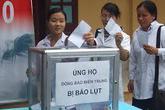 Tổng cục DS-KHHGĐ vận động quyên góp chia sẻ cùng đồng bào miền Trung