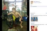 Rùng rợn cảnh giết gấu rồi đăng… Facebook