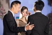 Chú rể vẫn bị giấu mặt trong đám cưới Á hậu Tường San