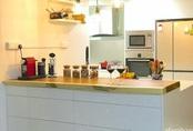 Căn bếp 7m² ngăn nắp cùng bí quyết sắp xếp đồ siêu gọn đẹp của mẹ Việt ở Singapore