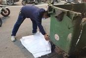 Hà Nội: Thai nhi trong túi bóng đen bị ô tô cán qua giữa phố