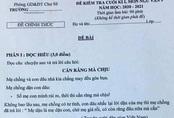 Giáo viên ở Gia Lai ra đề Ngữ văn có nội dung nhạy cảm