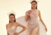 Hai nhan sắc đỉnh cao của Hoa hậu Việt Nam đọ sắc trong thiết kế xuyên thấu