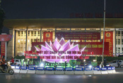 Thủ đô Hà Nội rực rỡ cờ hoa chào mừng Đại hội XIII của Đảng