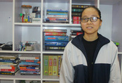 Nữ sinh khiếm thị giành giải Ba HSG Quốc gia