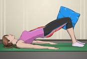 5 bài tập với gối giúp mông nở eo thon