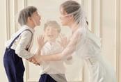 Tan chảy hình ảnh đẹp cùng câu chuyện của 3 mẹ con nhà MC Đan Lê