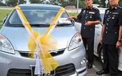Cướp xe ô tô để … rước dâu