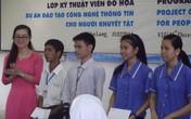 Lớp học đặc biệt miễn phí giúp người khuyết tật ở ĐH dân lập Văn Lang