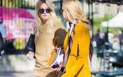 15 cách sử dụng thú vị cho chiếc khăn quàng mỏng manh mùa thu