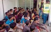 Giải cứu 46 người nước ngoài khỏi đường dây buôn người