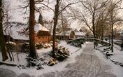 Ngôi làng tuyệt đẹp nhưng không có đường đi nổi tiếng ở Hà Lan