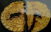 Phát hiện miếng vàng hình rồng ở Hoàng thành Thăng Long