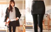 Mùa đông thêm ấm áp và dễ mặc với 4 loại legging cơ bản