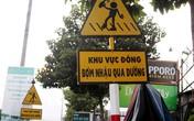 """Đồng Nai có biển báo lạ: """"Khu vực đông bợm nhậu qua đường"""""""