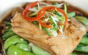 Ứa nước miếng với cá thu sốt nấm