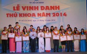 TPHCM: Vinh danh 84 thủ khoa