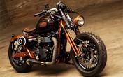 Siêu xe độc Triumph Bonneville ốp gỗ dành cho phái đẹp