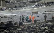 Người lính cứu hỏa sống sót kỳ diệu sau 31 giờ mắc kẹt trong vụ nổ