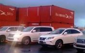 """5 siêu xe Lexus nhập lậu về Đà Nẵng bằng lý do chuyển hàng """"nhầm"""""""