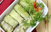 Bắp cải cuộn thịt mát ngọt ngon cơm