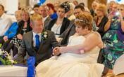 Đám cưới như mơ của người đàn bà bị ung thư não