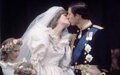Nụ hôn nồng cháy của công nương Diana và thái tử Charles trong đám cưới