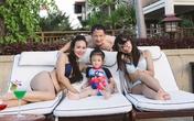 Hoa hậu Bảo Ngọc khoe con gái xinh chân dài giống mẹ
