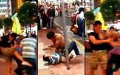 Hai người đàn ông bị cảnh sát bắt giữ vì tranh giành taxi