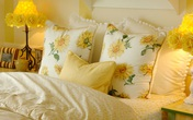 Những kiểu phòng ngủ ấm áp với sắc vàng