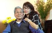 MC Mỹ Linh bàng hoàng trước sự ra đi của bố, NSND Đình Quang