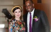 Á hậu Ngọc Oanh dự tiệc tối của Thủ tướng Dominica