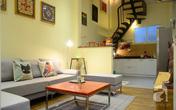 Nhà 30m² siêu lãng mạn của vợ chồng trẻ ở phố Tôn Đức Thắng