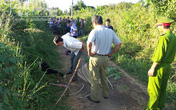 Nghi án một phụ nữ bị sát hại, vứt xác bên đoạn đường vắng