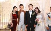 Vợ chồng Tuấn Hưng dự đám cưới Vũ Duy Khánh