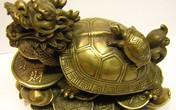 Rùa phong thủy giúp mang lại may mắn, tiền tài
