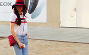 """Sao Việt """"phát cuồng"""" với xu hướng túi xách mini"""