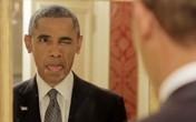 """Hình ảnh """"nhí nhảnh"""" của Tổng thống Obama gây sốt"""