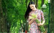 Người đẹp Việt khoe dáng trên những con phố đầy cây xanh ở Hà Nội