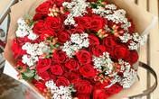 Bó hoa hồng Ecuador chục triệu đồng cho ngày Valentine