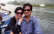 Vợ chồng Chế Linh tay trong tay đi vãn cảnh chùa Hương