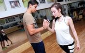 Angela Phương Trinh khoe dáng chuẩn trên sàn nhảy