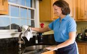 Cách lau bồn rửa nhanh mà sáng bóng