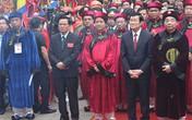 Chủ tịch nước cùng nhân dân dâng hương tưởng nhớ các Vua Hùng