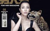 Lưu Hiểu Khánh gây tranh cãi vì ảnh trẻ trung trên tạp chí 'khác xa thực tế'