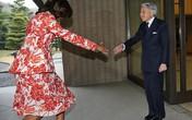"""Đệ nhất Phu nhân Mỹ gặp """"sự cố"""" ở Nhật"""