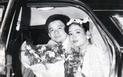 Ảnh cưới thập niên 1980 của nghệ sĩ Chiều Xuân